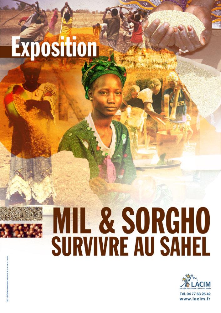 Affiche exposition Survivre au Sahel