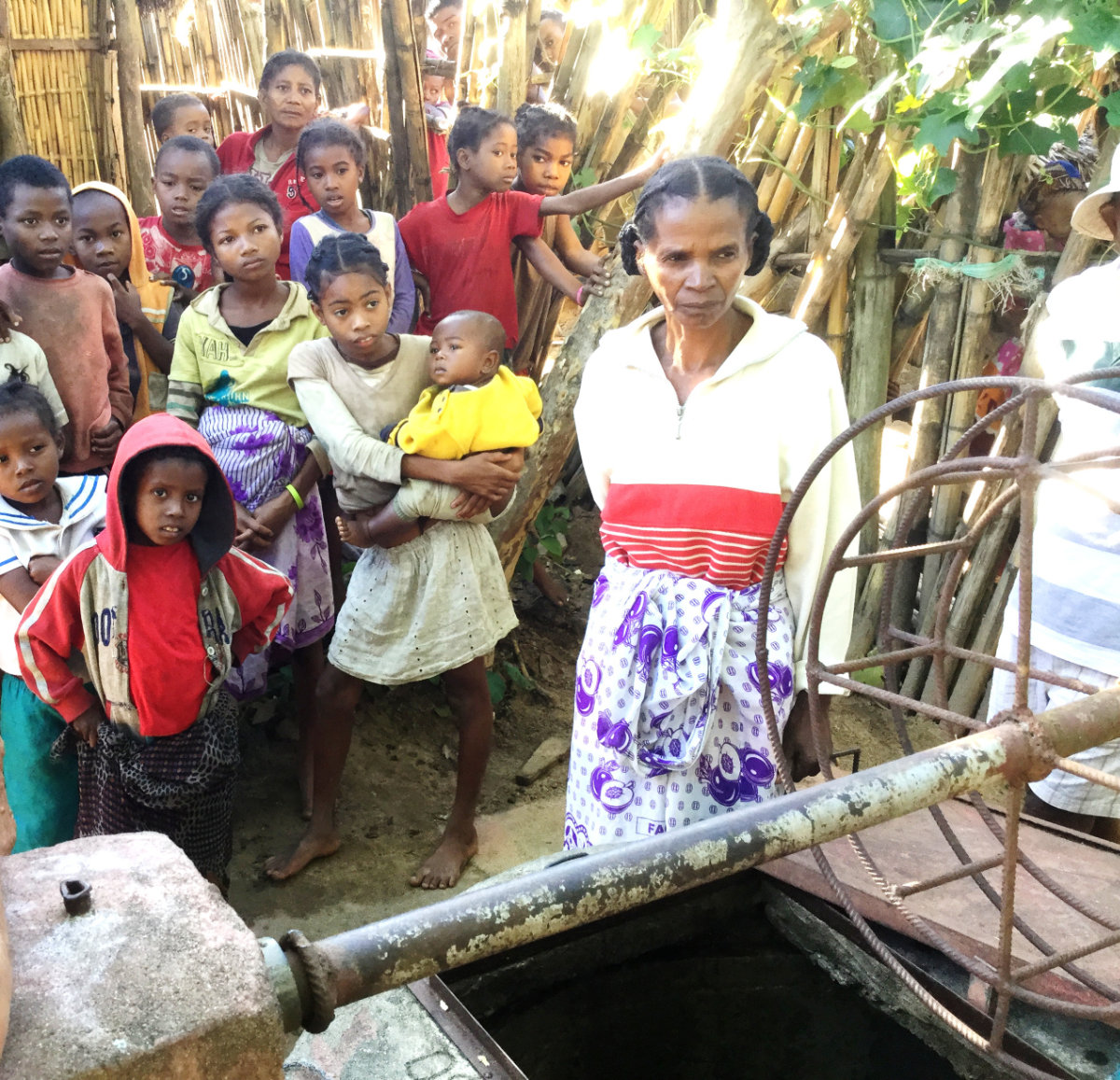 Puits de Manakana commune de Mananjari