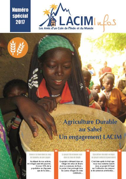 Couverture LACIM infos spécial agriculture durable