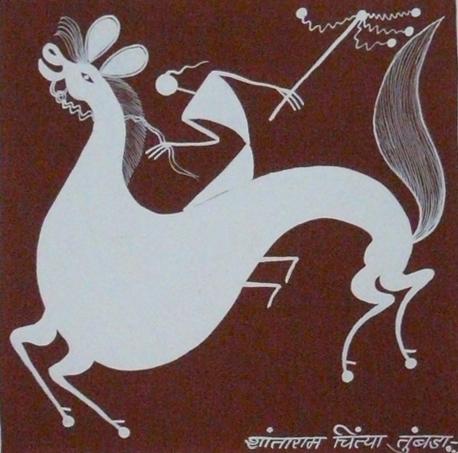 Peinture de Shantaram