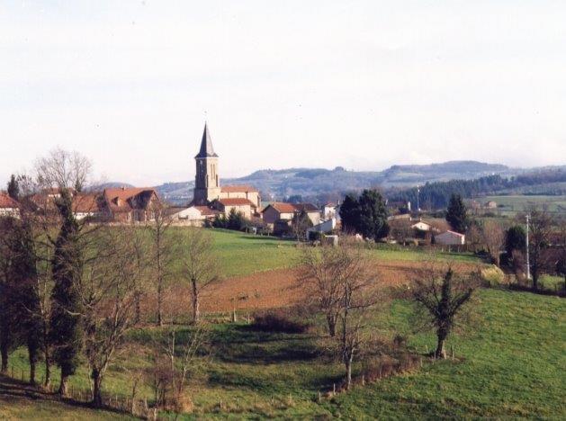 Village de Croizet sur Gand